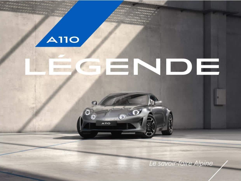 Alpine A110 : Pure et Légende