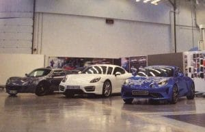 Alpine A110 - Lotus Exige - Porsche Cayman