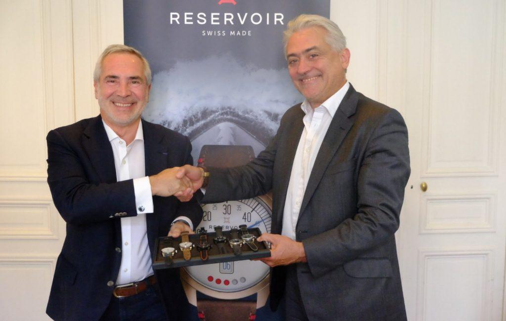 RESERVOIR Watch - F. Moreau et T. Chaunu