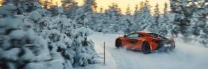 McLaren 570S - hiver