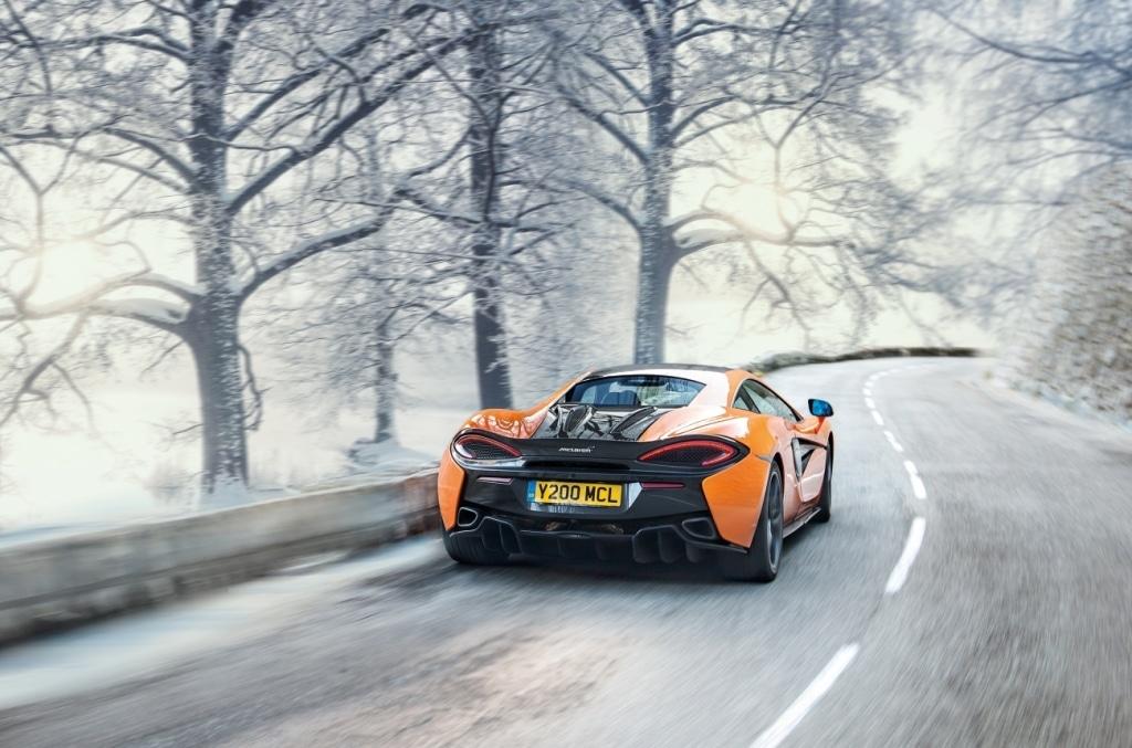 McLaren 570S – hiver