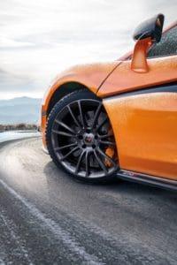 McLaren 570S - Pneus hiver Pirelli
