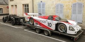 Bentley Blower & Porsche 962