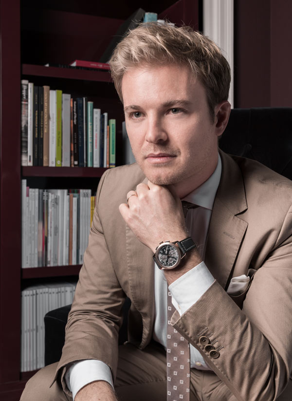 "IWC Ingenieur Chronographe ""Tribute to Nico Rosberg"""