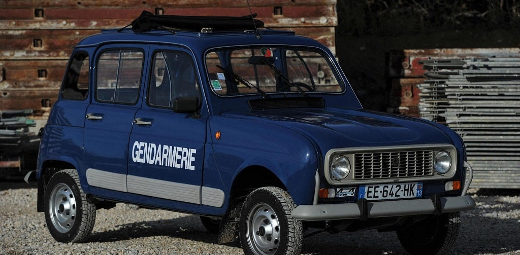 Renault 4L 4×4 Sinpar ex-gendarmerie