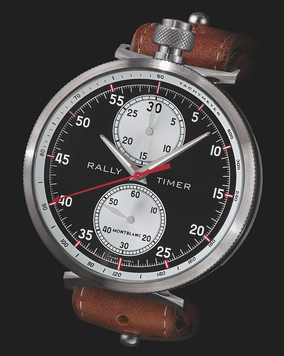 Monblanc TimeWalker Chronograph Rally Timer Counter Limited Edition 100 2017 (ref 116103)