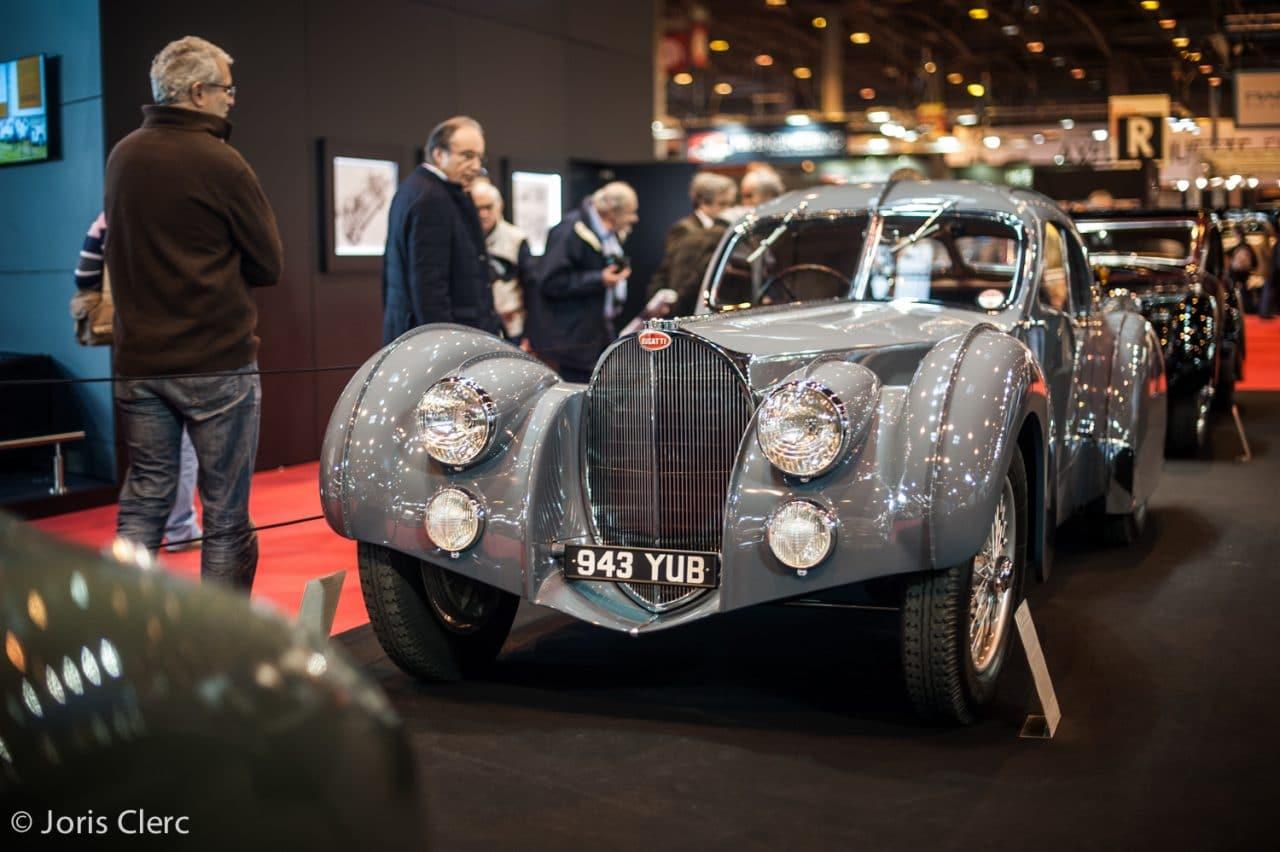 Bugatti 57SC – Retromobile 2017 – Joris Clerc