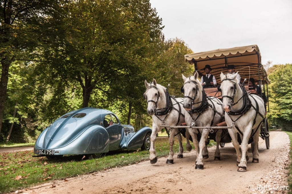 Chantilly Arts & Elegance - Bugatti 57SC Atlantic - Joris Clerc