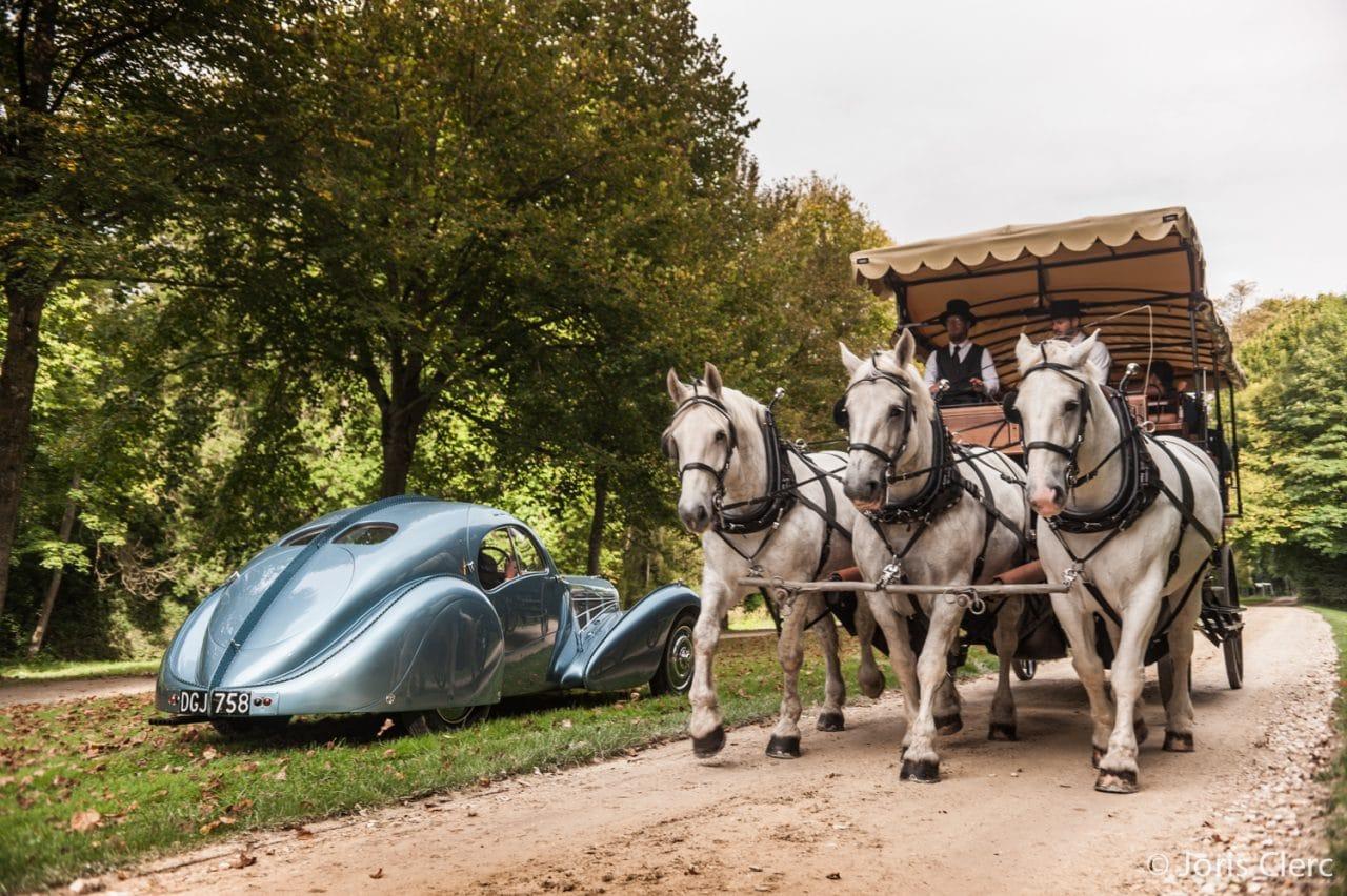 Chantilly Arts & Elegance – Bugatti 57SC Atlantic – Joris Clerc
