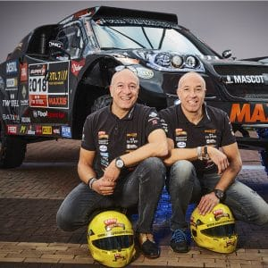 Tim et Tom Coronel - Dakar 2018