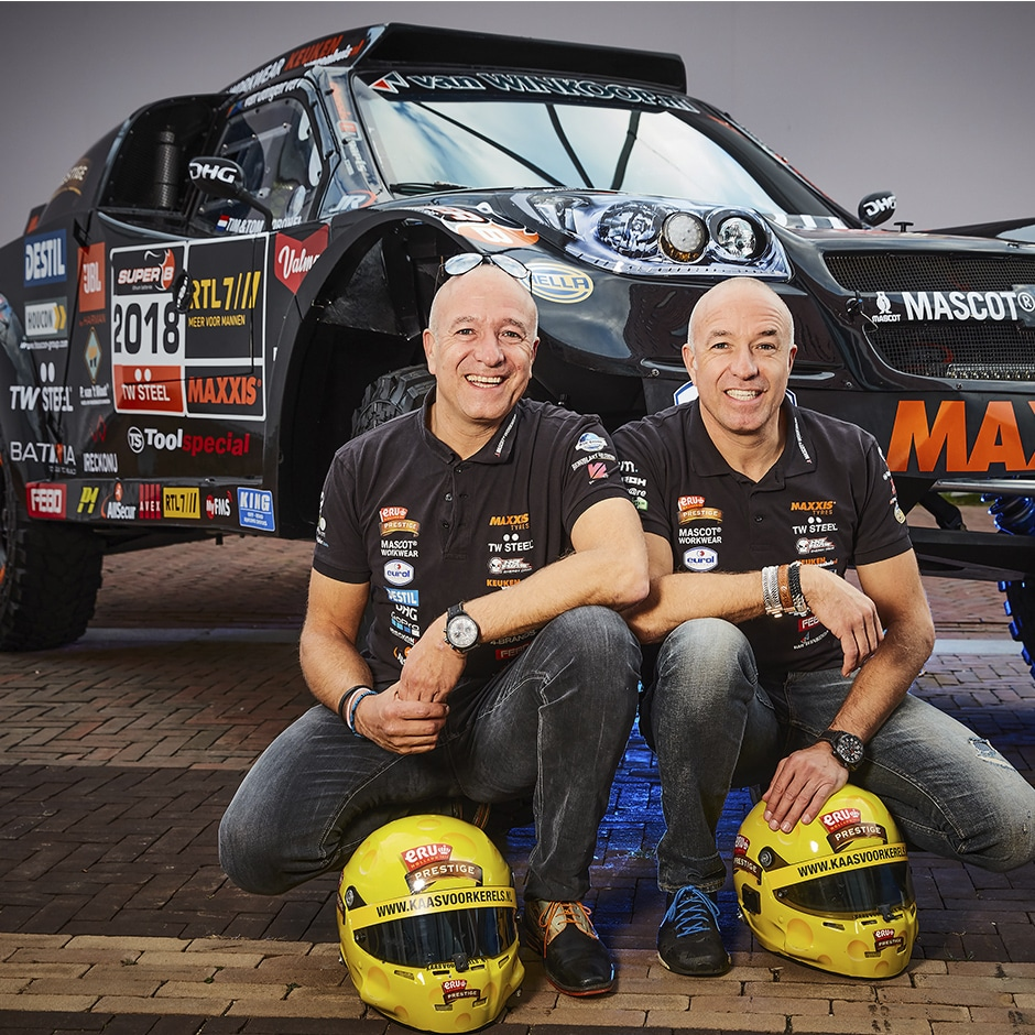 Tim et Tom Coronel – Dakar 2018