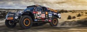 Tim et Tom Coronel - Dakar 2018