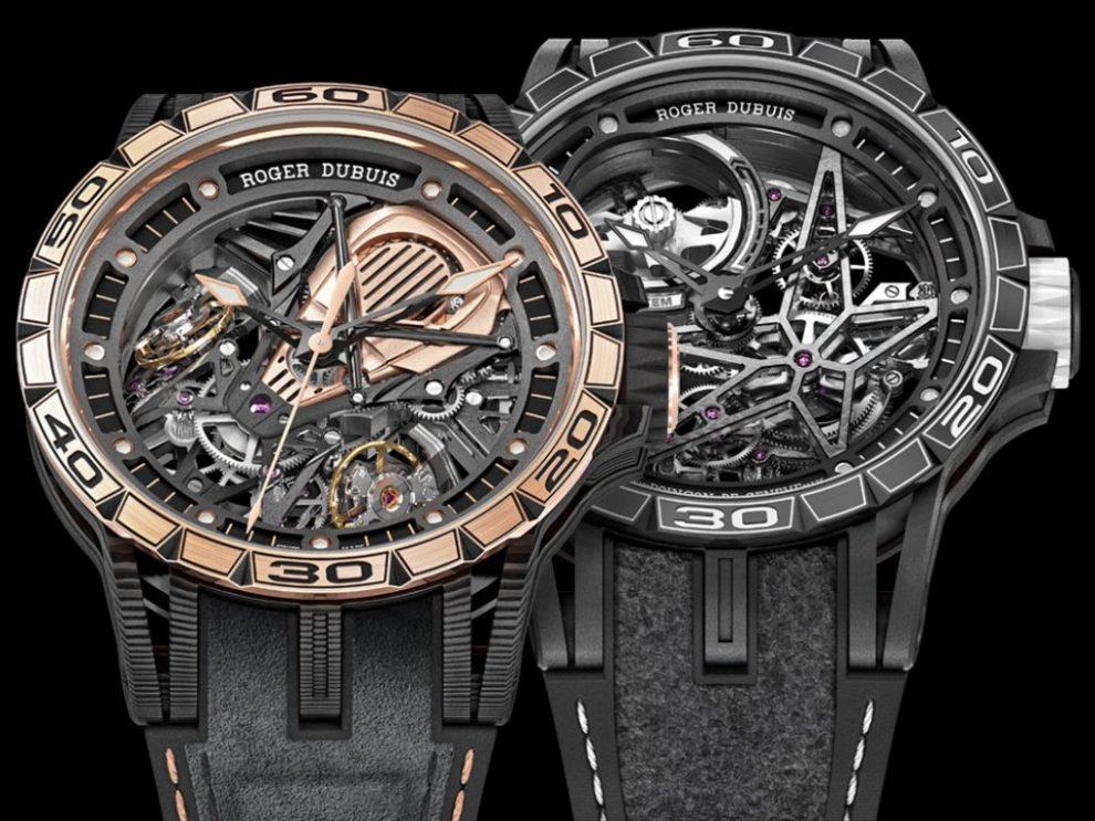 Roger Dubuis Excalibur Aventador S & Excalibur Spider Pirelli