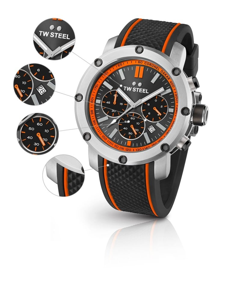 TW Steel TS8 Dakar Grandeur Tech Limited Edition