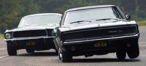 Bullitt : Ford Mustang vs Dodge Charger