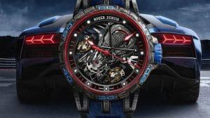 Roger Dubuis Excalibur Aventador S Blue