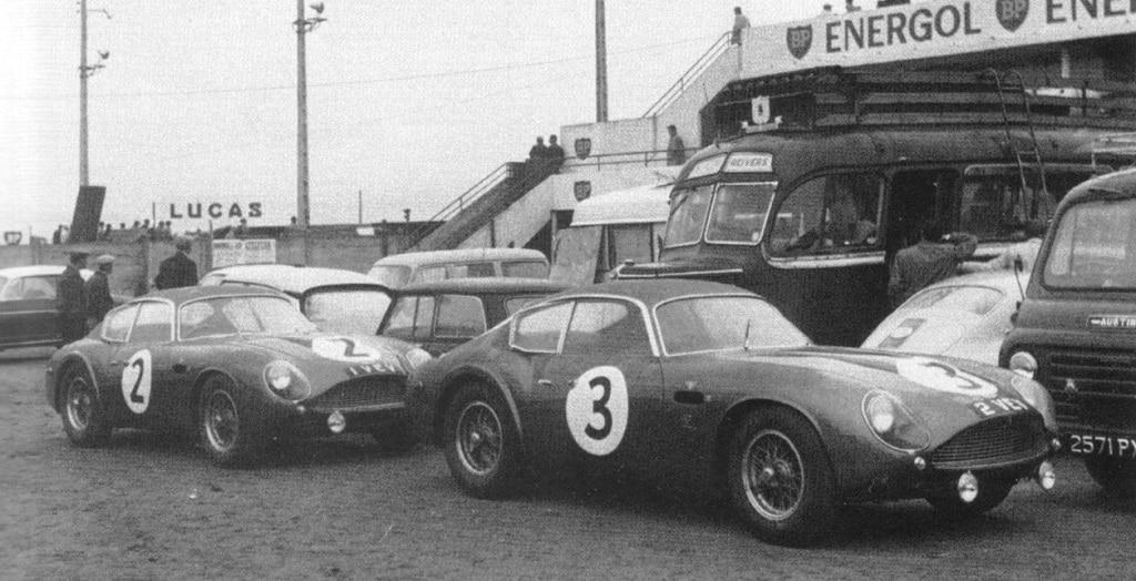Aston Martin DB4 GT Zagato 2VEV (Le Mans 1961)