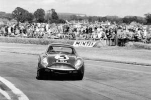 Aston Martin DB4 GT Zagato 2VEV (Goodwood 1961)