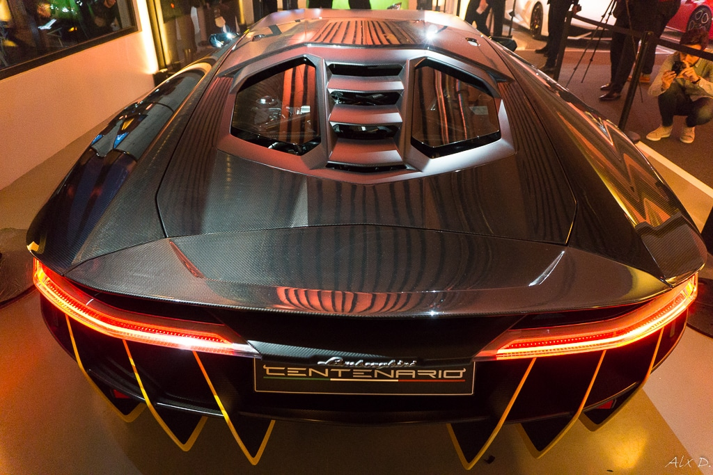 Grand Opening Lamborghini Paris -  Puteaux (92)