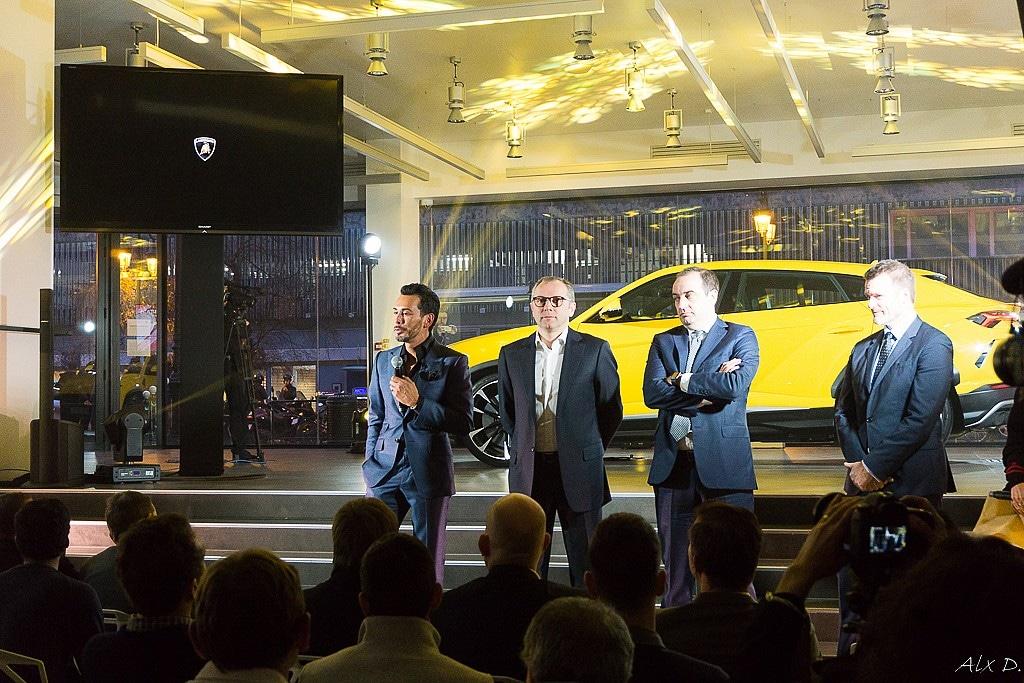Grand Opening Lamborghini Paris –  Puteaux (92)