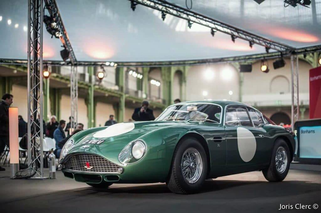 Aston Martin DB4 GT Zagato 2VEV (Retromobile 2018)