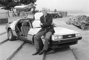 John DeLorean - DeLorean DMC12 - 21 01 1981