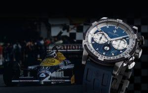 Louis Moinet Nelson Piquet chronographe