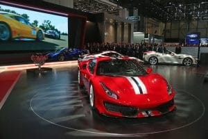 Ferrari 488 Pista - Geneva 2018 - Crédit photo @ Ferrari SpA