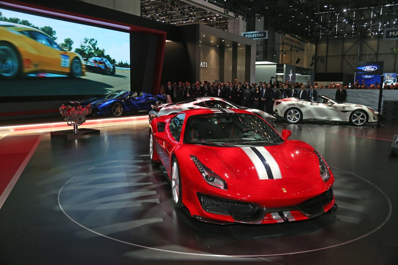 Ferrari 488 Pista – Geneva 2018 – Crédit photo @ Ferrari SpA