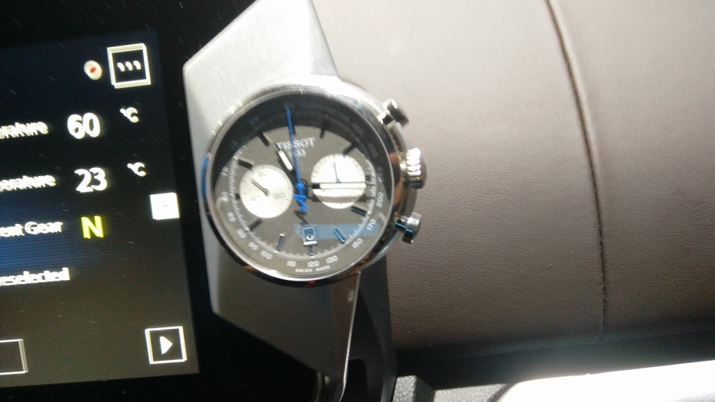 Alpine Tissot concept watch On Board