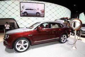Bentley Bentaya hybride