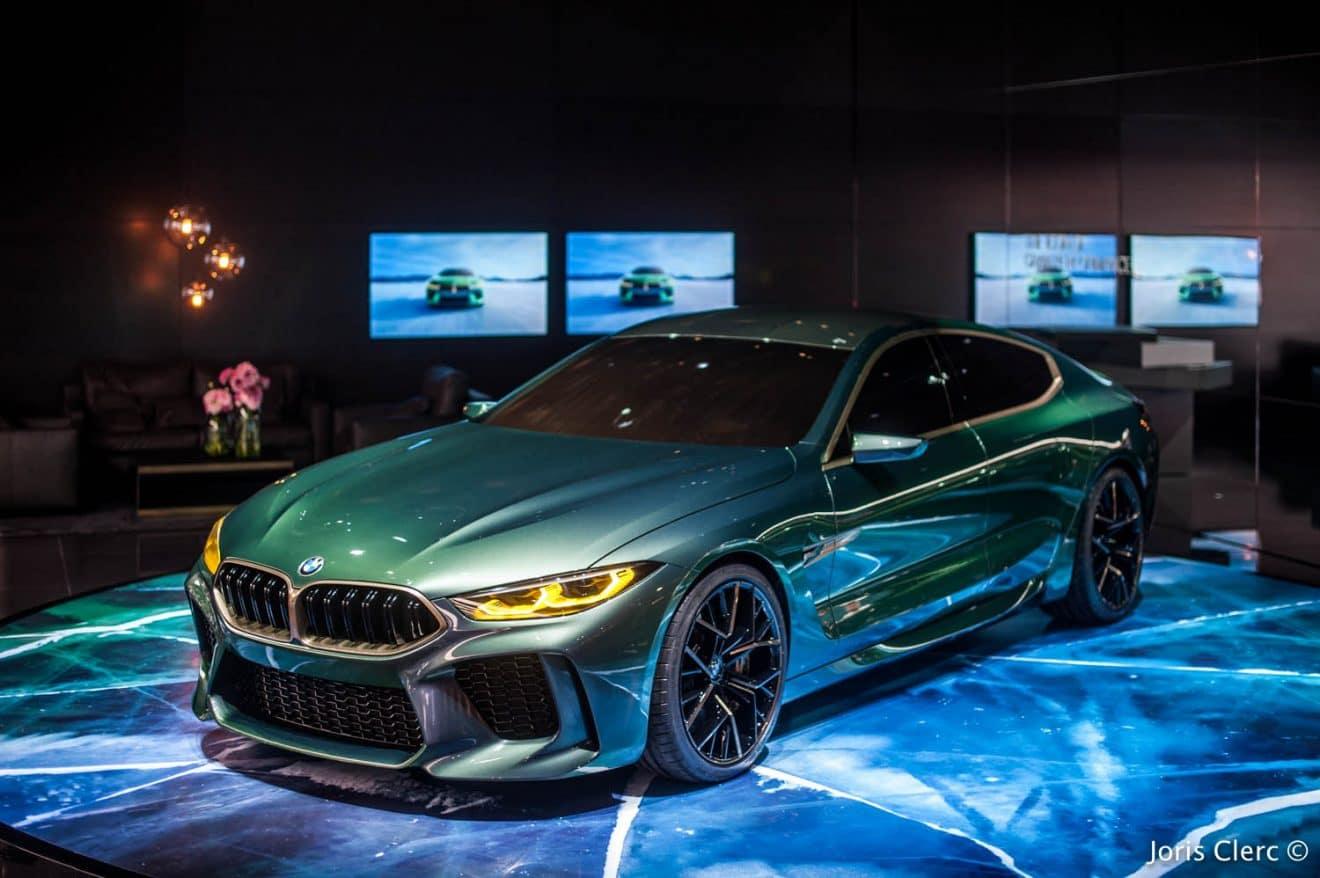 BMW M8 Gran Coupe Concept – Salon de Genève 2018 – Joris Clerc ©