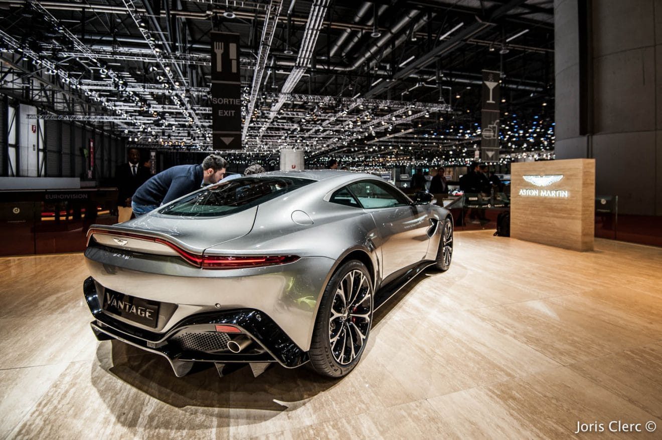 Aston Martin Vantage – Salon de Genève 2018 – Joris Clerc ©