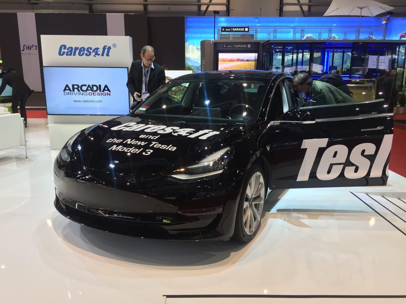 Tesla Model 3 GIMS2018