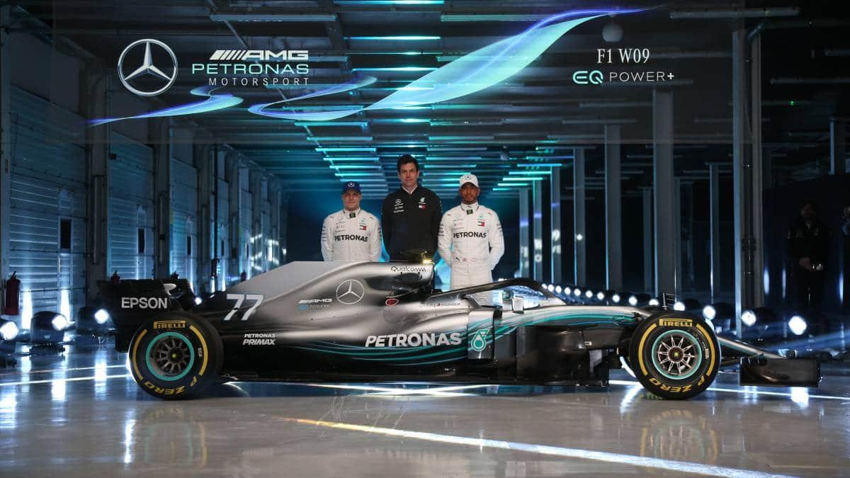 Mercedes F1 W09 2018