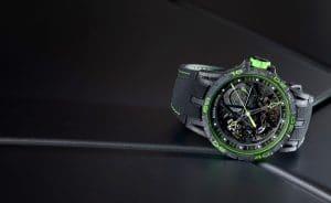 "Roger Dubuis Excalibur Aventador S ""Verde Mantis"""