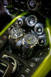 TAG Heuer Carrera Heuer 01 & Formula 1 Aston Martin