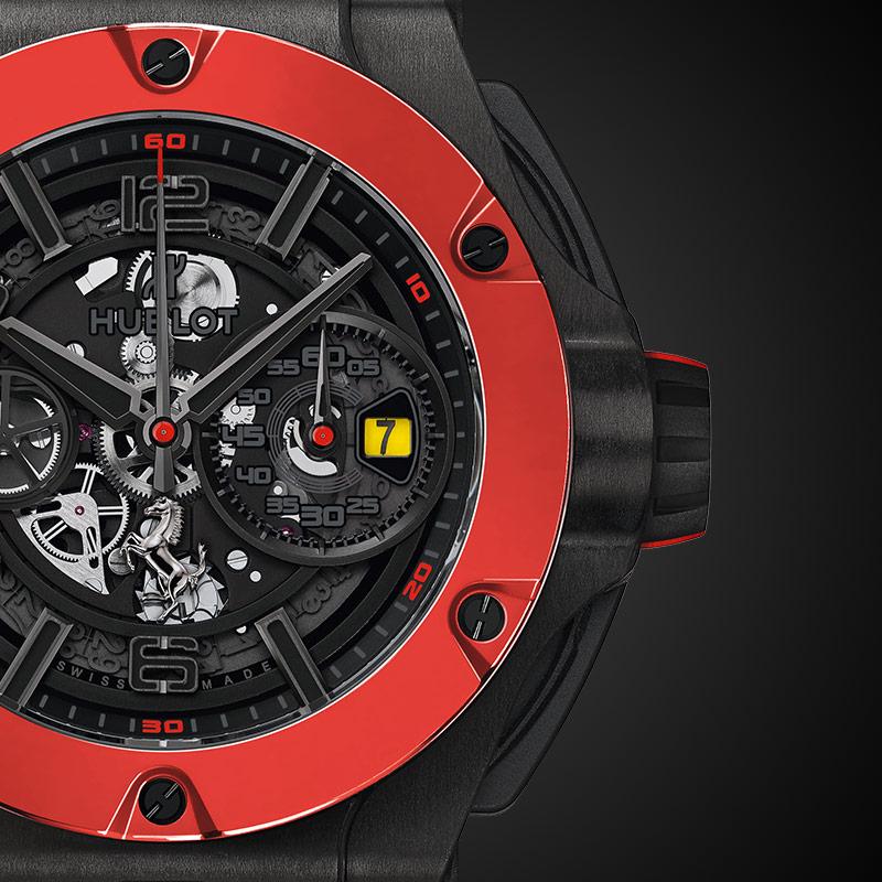 Hublot Big Bang Ferrari Unico Carbon Red Ceramic
