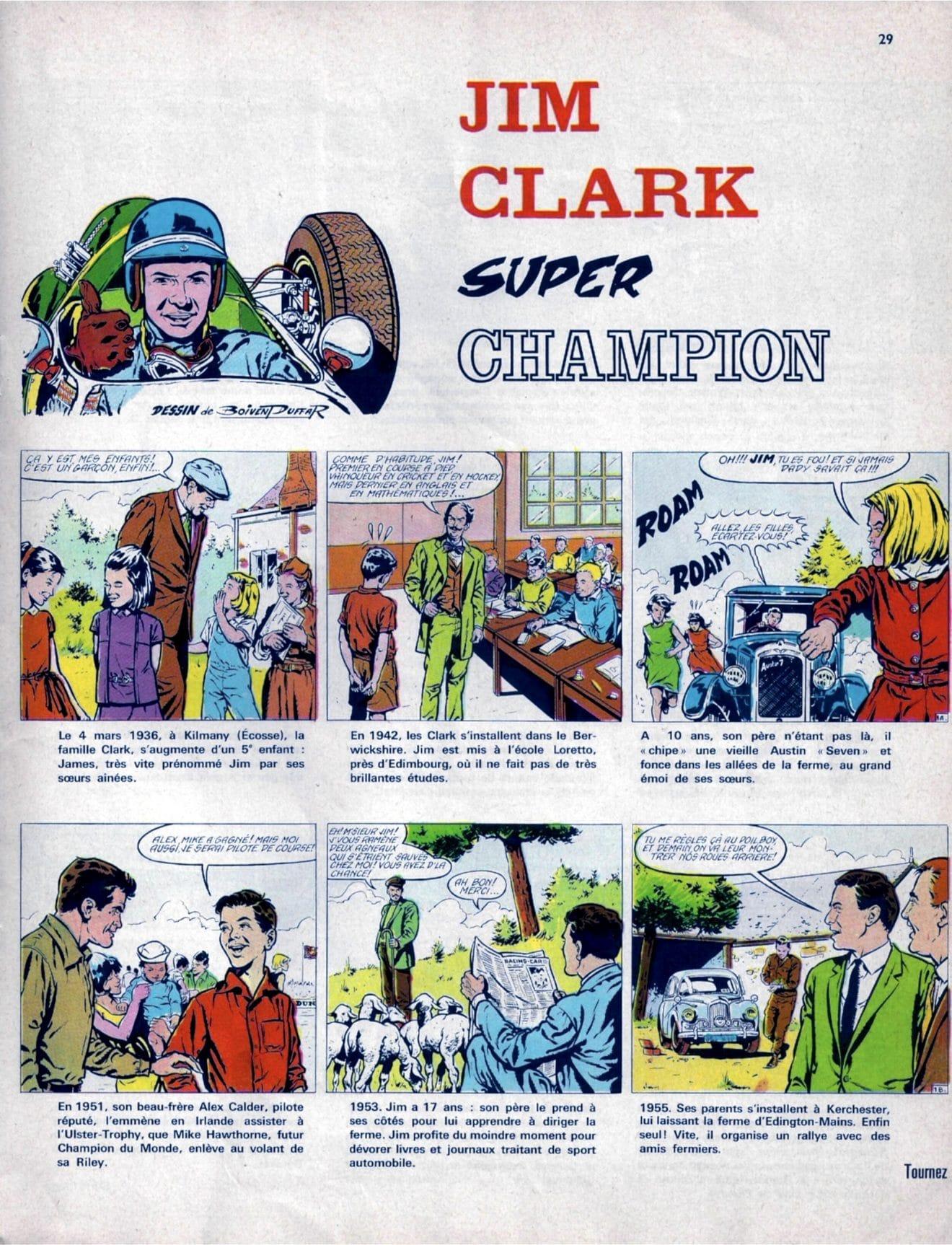 Champion Magazine 1966 – Jim Clark BD