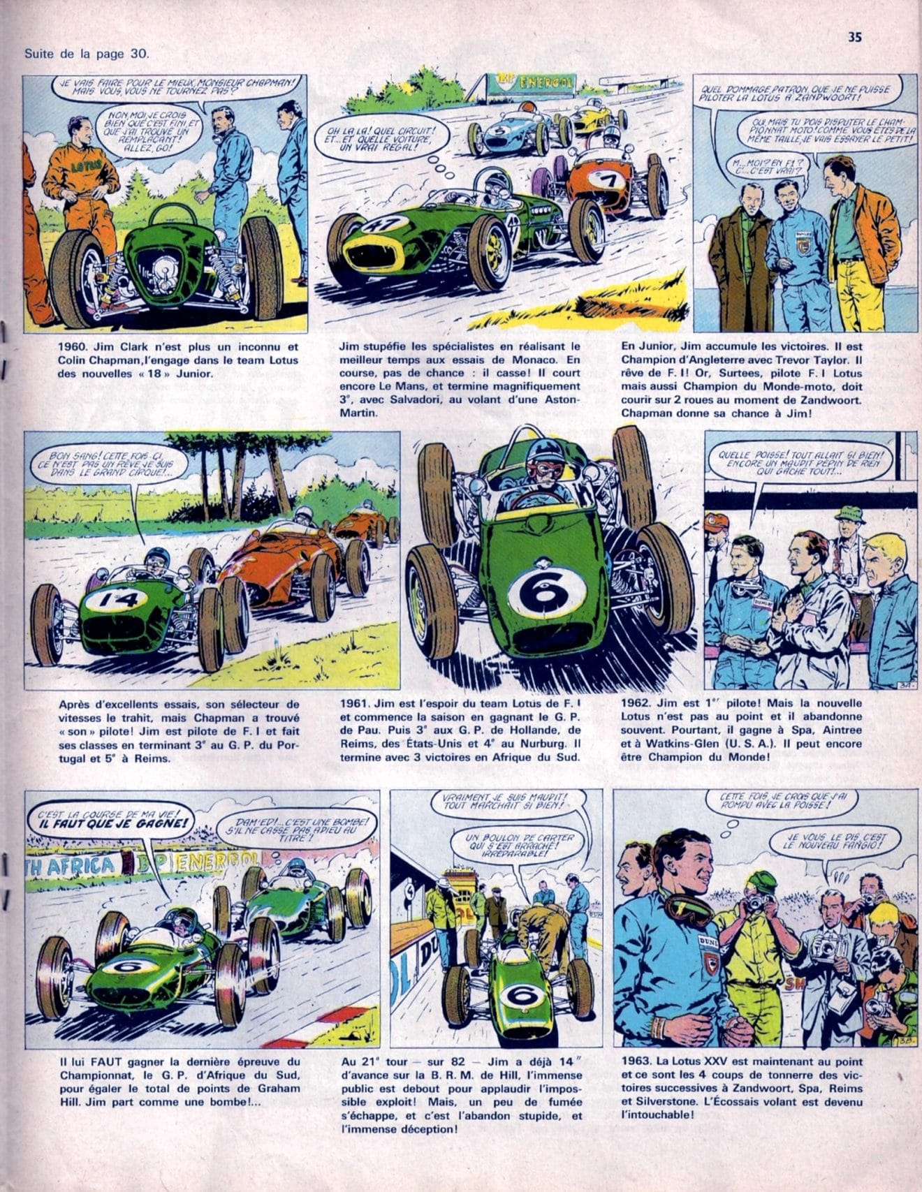 Champion Magazine 1966 – Jim Clark BD