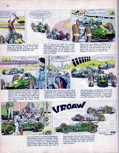 Champion Magazine 1966 - Jim Clark BD