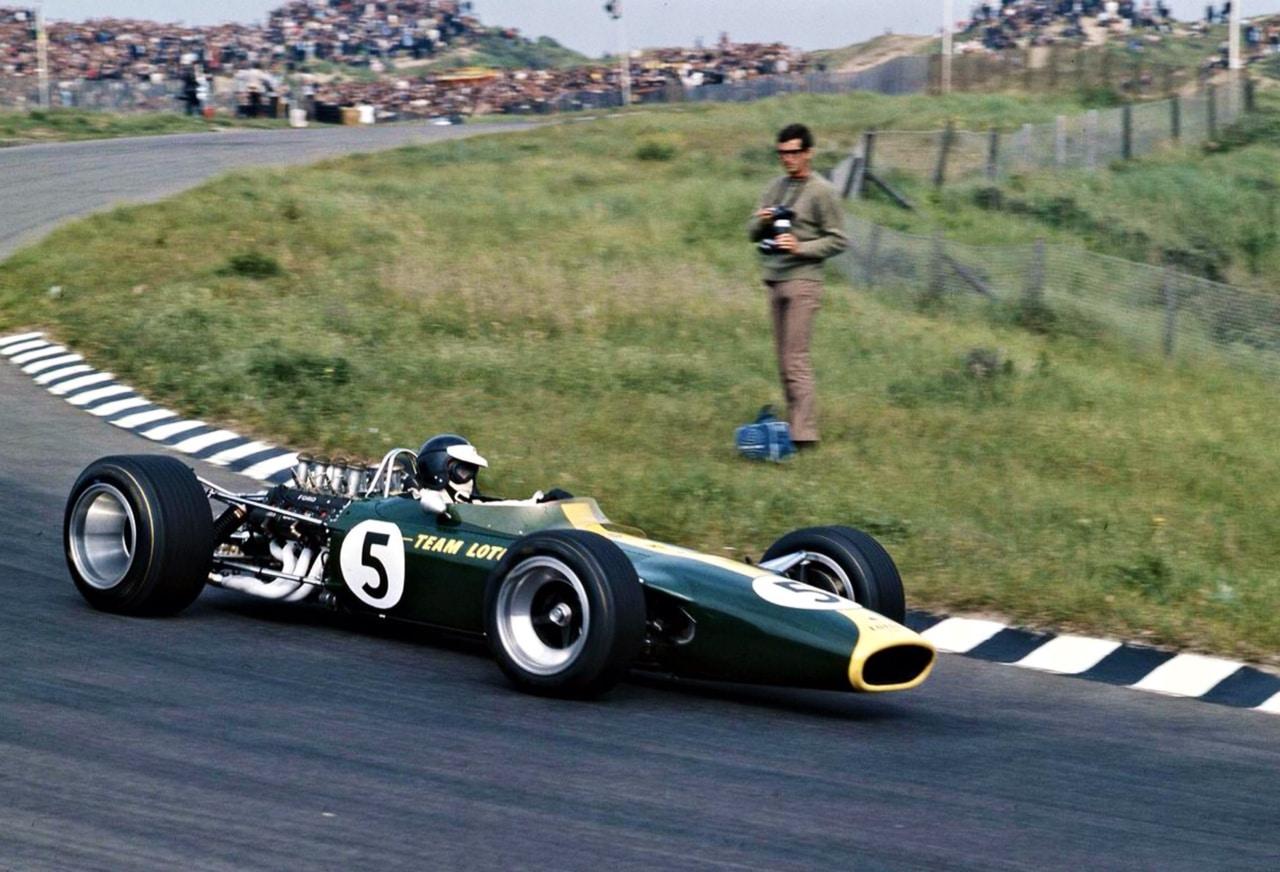 Jim Clark Pays Bas 1967 Lotus T49