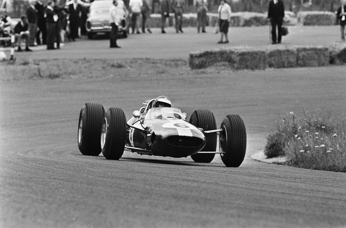Jim Clark au GP Pays Bas 1965 à Zandvoort