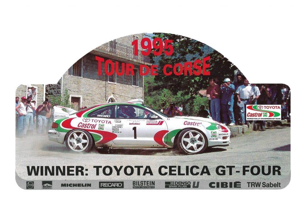 Toyota Celica GT-Four - Tour de Corse 1995