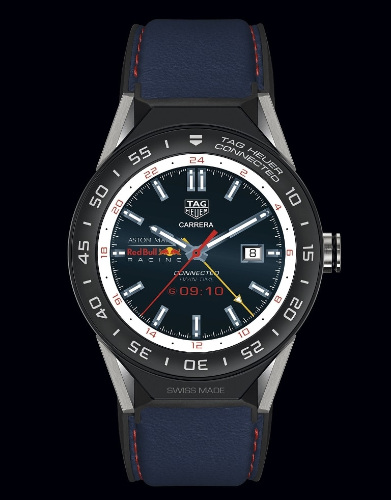 TAG Heuer Connected Modular 45 Edition spéciale Aston Martin Red Bull Racing (2018)