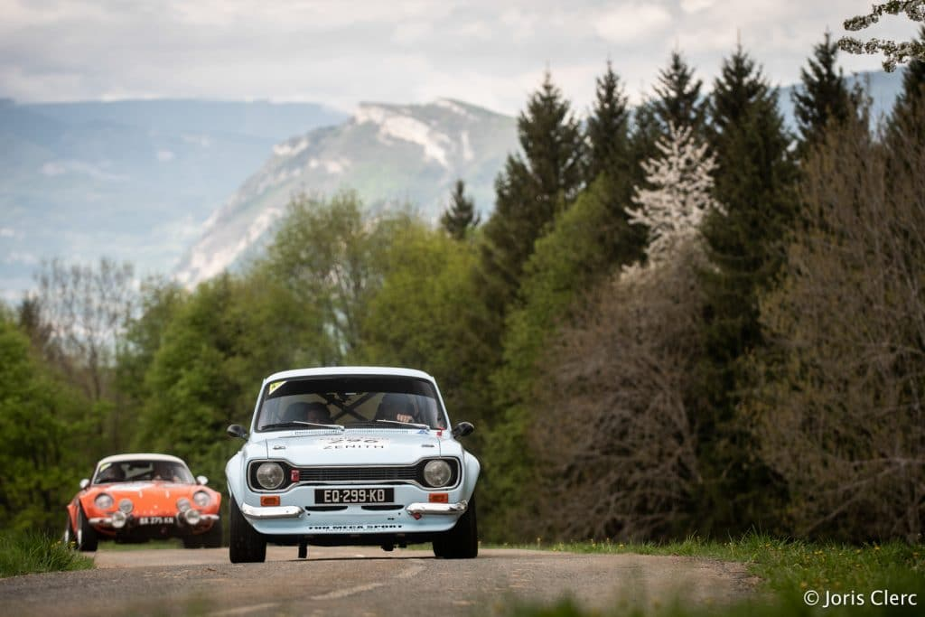 Tour Auto 2018 - Ford Escort RS2000 & Alpine A110 - Joris Clerc ©