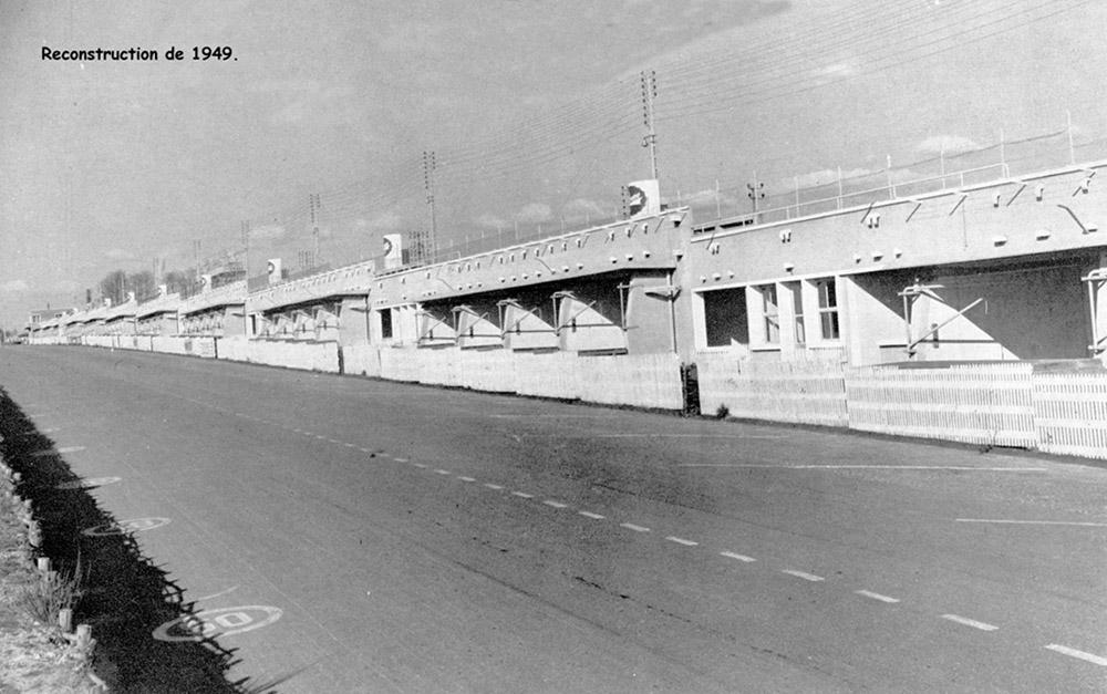 Circuit 24 Heures du Mans - Stands 1949