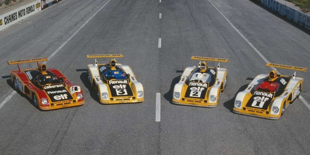 24 Heures du Mans 1978 - Renault-Alpine A443 A442B A442A A442