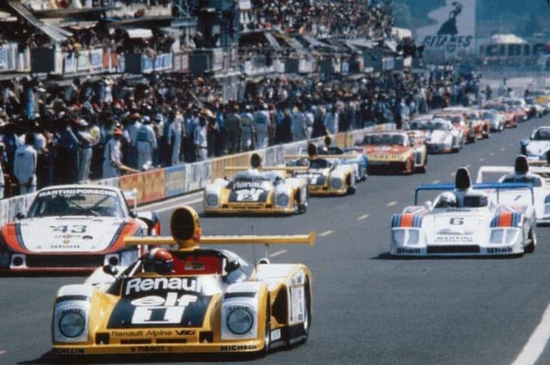 24 Heures du Mans 1978 - Renault-Alpine A443
