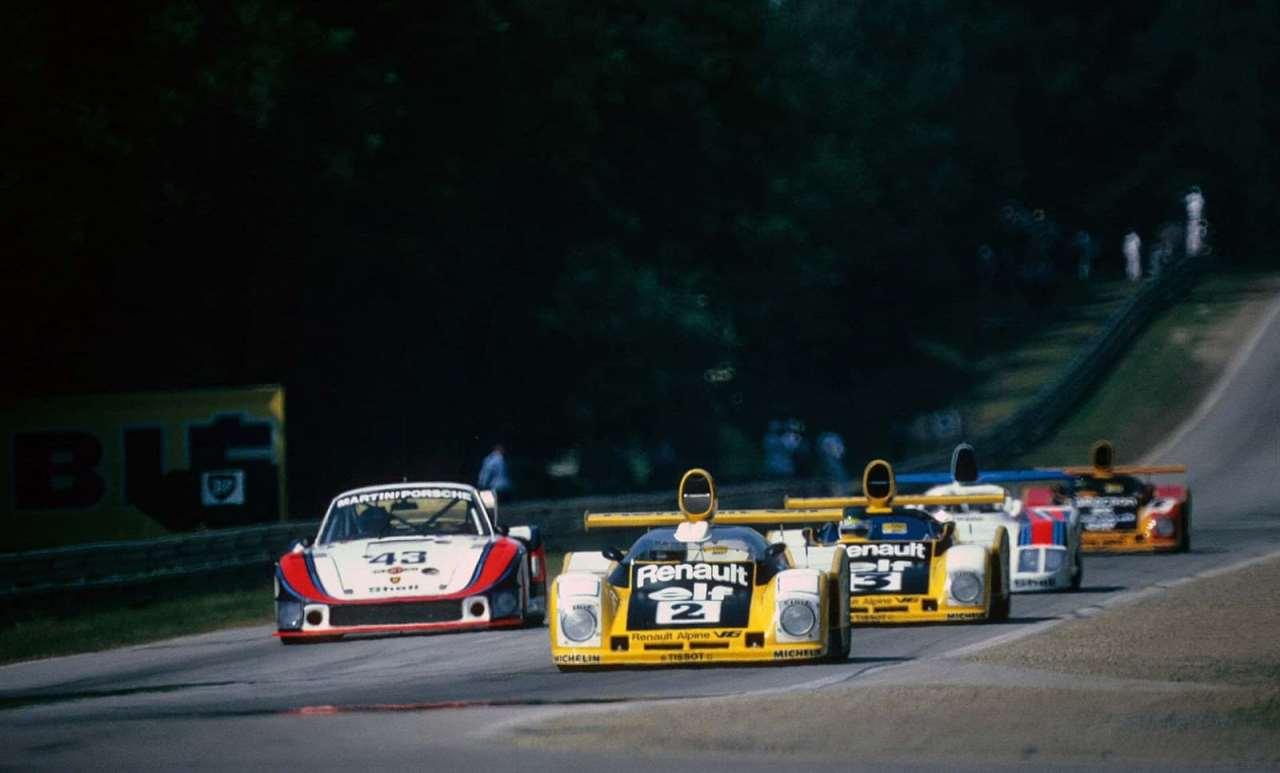 24 Heures du Mans 1978 – Renault-Alpine A443 A442B A442A A442